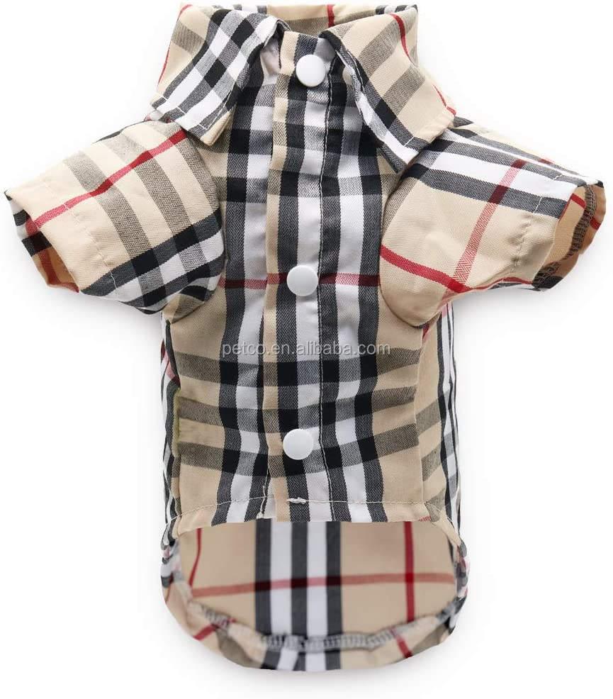 Dog Luxury Clothes Wholesale 2020 New Dog Designer Clothes Summer Dog Shirts Pet Apparel