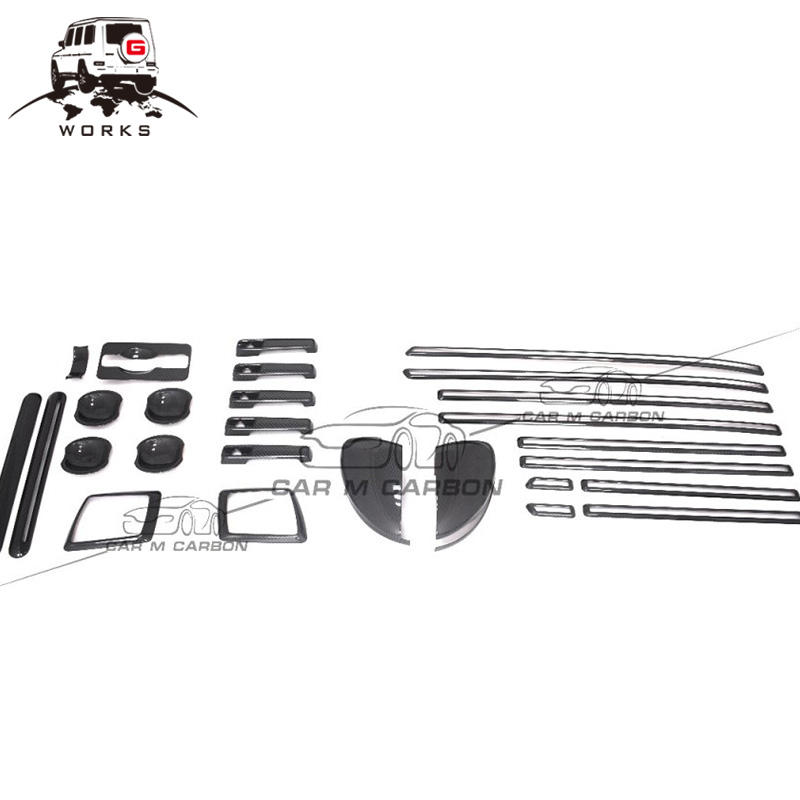 W463A w464 exterior carbon parts for 2019Year G500 G550 G63 carbon trim New G 2019Year