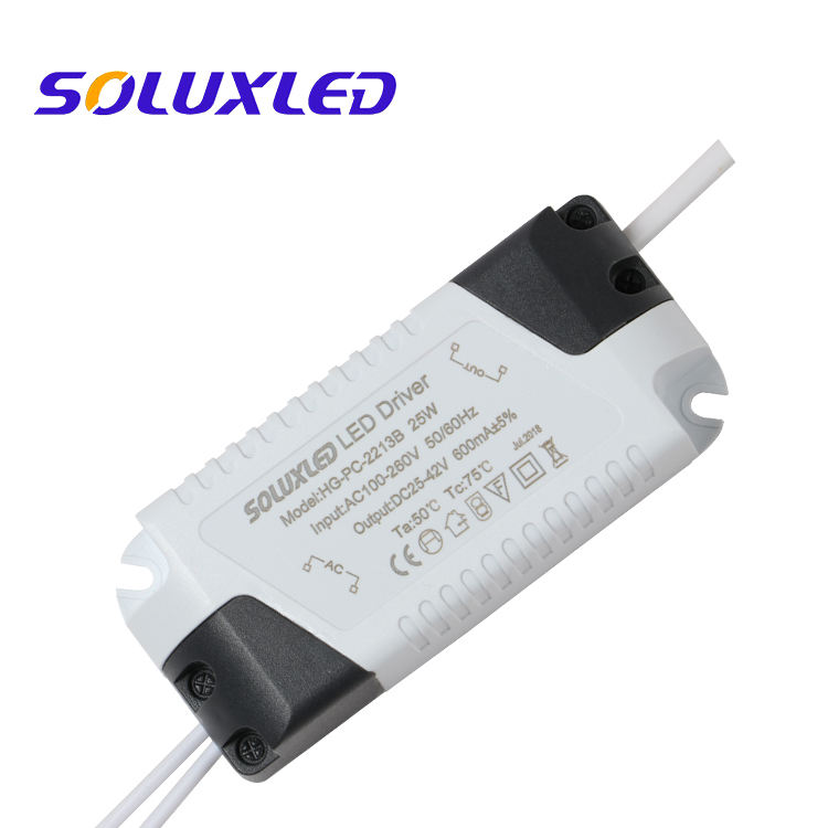 18-24W 280ma 300mA 580ma 600ma LED DRIVER for PANEL LIGHT