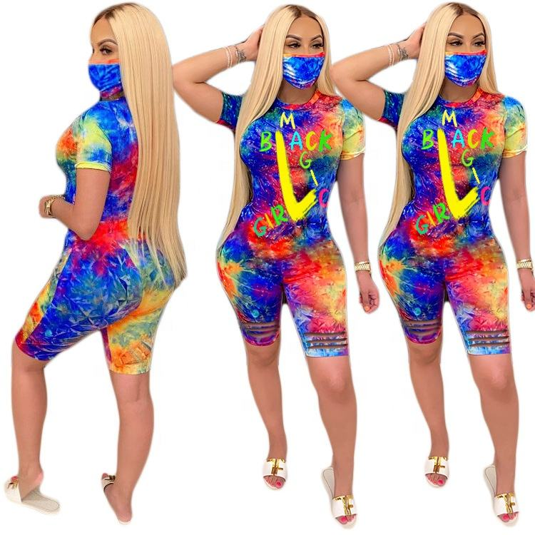 Multi color Printed Suit 2 piece pants set Sportswear