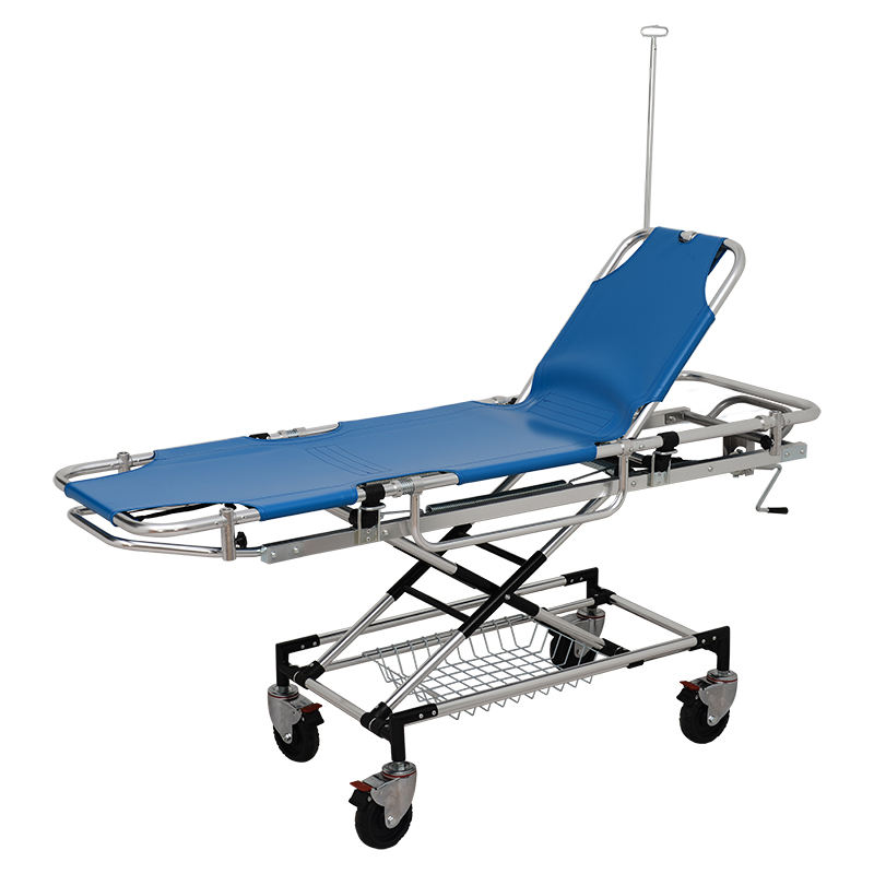 CE Certificate Ambulance Hospital Emergency Bed Stretcher