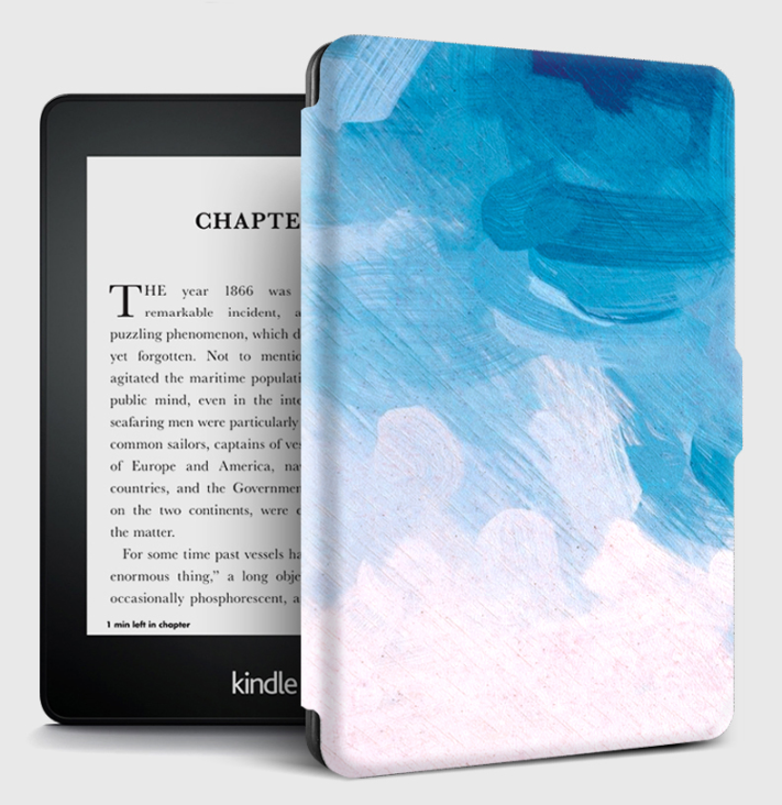 Printed Customize Case for Amazon Kindle Paperwhite Smart Cover