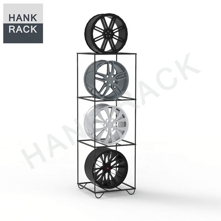 Car Rim Stand Wheel Display Rack