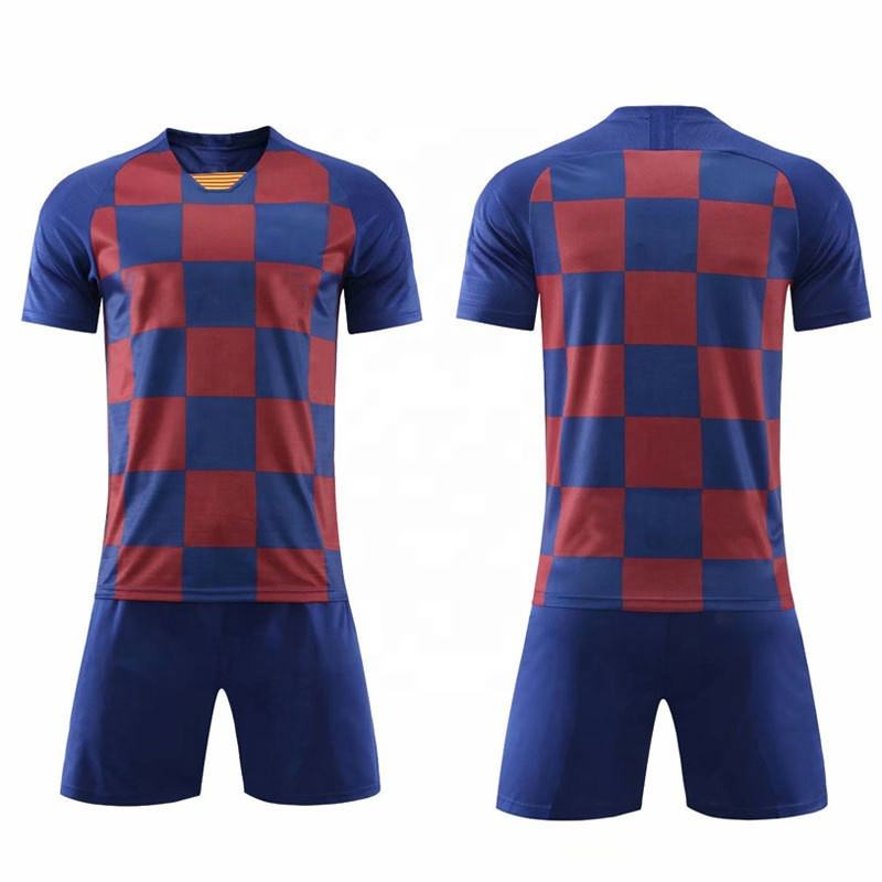 Thai Quality Soccer Wear Custom 19-20 Men's Soccer Jersey Camisetas De Futbol