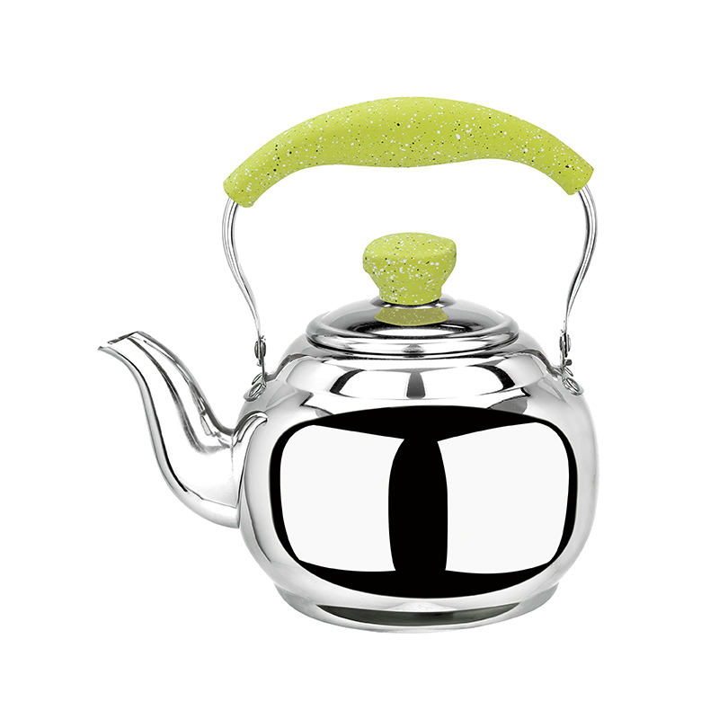 Stainless Steel Whistling Tea Kettle 3.2L 13 Cup Hot Water Stovetop Classic Design