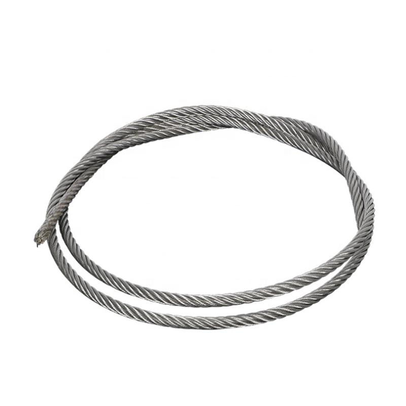 Best Price 5mm 6mm Aisi 304 Cable 7x19 stainless steel wire rope