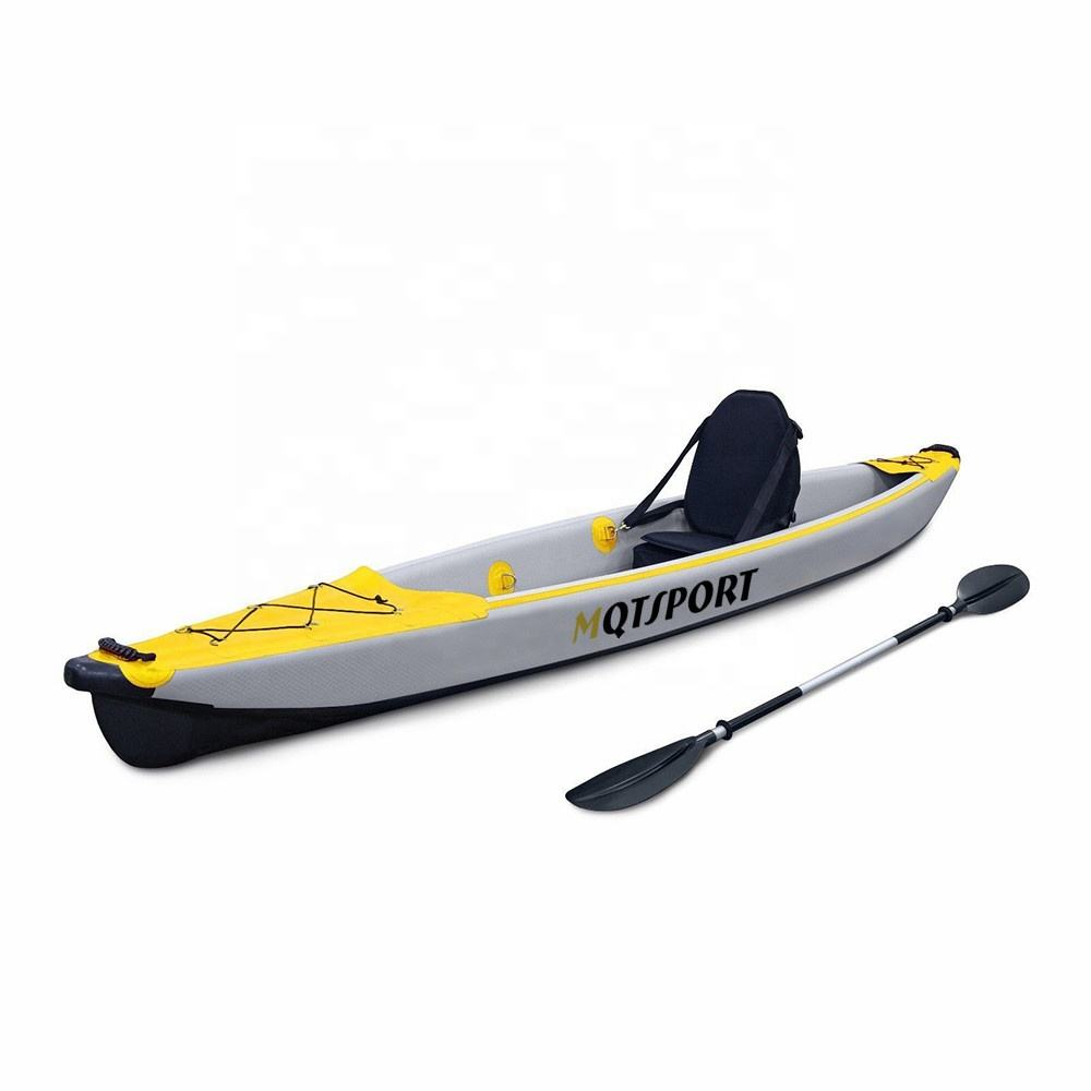 Ocean Sea Inflatable Single or Double Person Fishing Kayak Manufacturer