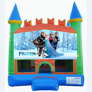 2020 Enjoy China best-selling commercial inflatable frozen bouncy castle/ frozen jumping castle for kids