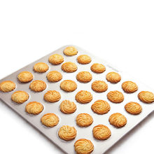 Non-stick carbon steel champagne gold marcarons baking pan cookies sheet
