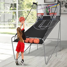 Indoor Foldable Basketball Arcade Game Shooting Machine For Sale
