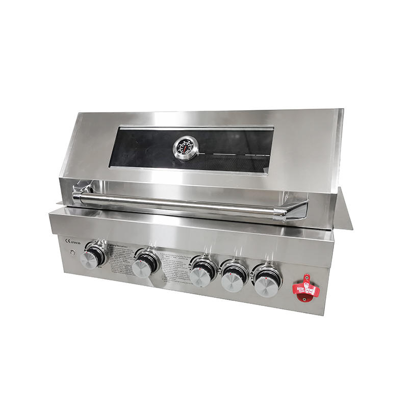 High Quality OEM ODM Easily Cleaned Island Stainless Steel Built In BBQ Gas Grills