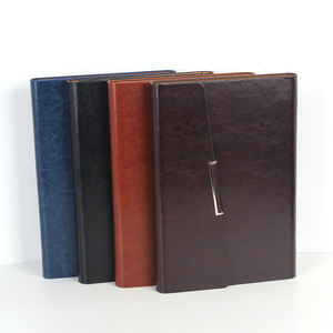 Hot Selling Office Business Custom Logo Notebook Leather Cover Diary A5 Notebook