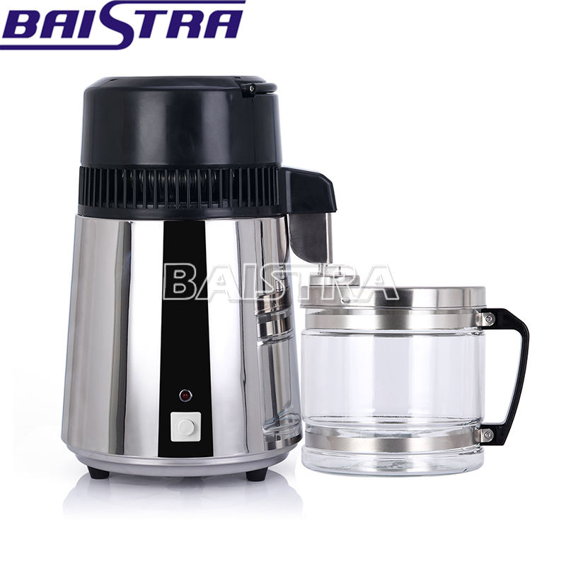 Perfect Appearance Glass Jug 4L Portable Household Water Distiller