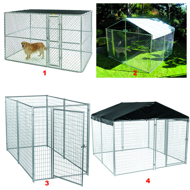 Cina Grosir Welded Wire Mesh Kandang Anjing Besar/Kandang Anjing Anjing/Dog Run Fence Panel