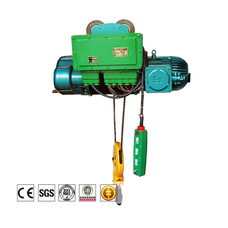 Food Beverage Factory [ Dual Hoist ] Small Electric Hoist Latest Arrival Best Quality Small 500kg 220v 5 Ton 20 Ton Dual Speed Electric Wire Rope Hoist