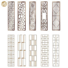 modern aluminum carved decorative wall panel with Attractive design