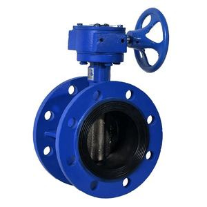 Bundor 24 Inch High Performance Flanged Butterfly Valve Manufacture