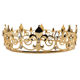 NeeFu WoFu Metal crown Zirconia Fashion Bridal Wedding Wholesale Wedding Tiaras and Crowns factory Outlet
