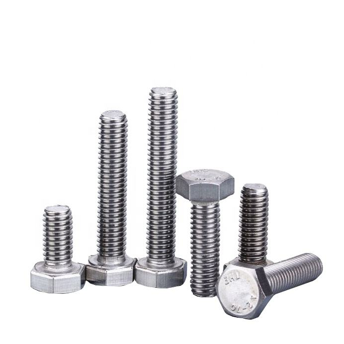 China Supplier High Quality Bolts And Nuts Factory Price Tex Head Bolt Heavy SS HEX BOLT and nut class 10.9
