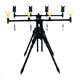 Youke RP181 Adjustable Aluminium Rod Pod Carp fishing Tackle