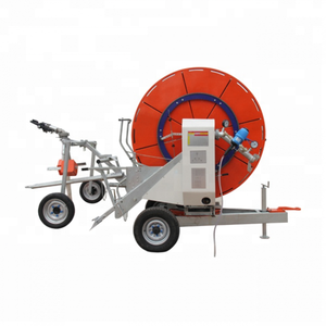 PVC 75mm 90mm power automatic hose reel irrigation system +9615517342188