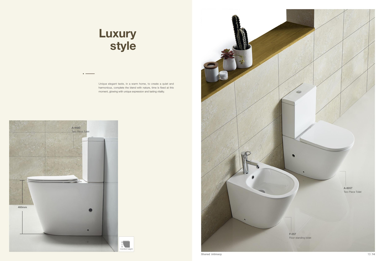 Top Vitra/ /Dise/ño S50/de pared con asiento de inodoro WC,