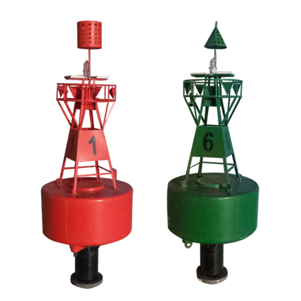 Marine Led Light Equipped Maritime Navigational Aid Marking Buoys