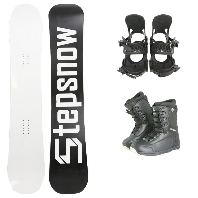 ski snowboard and snow boots snow binding snow shoes snowboard set carbon fiber board
