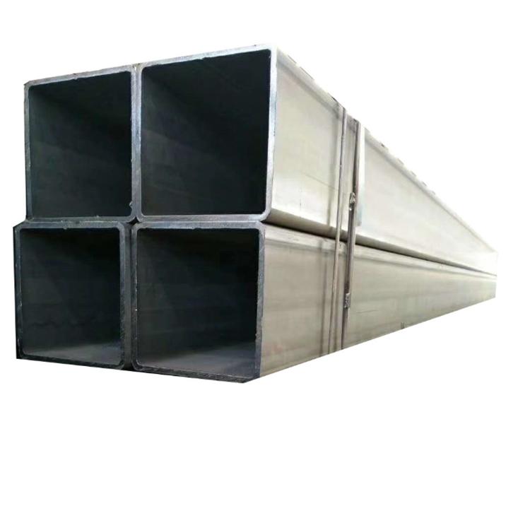 Sıcak haddelenmiş içi boş bölüm hafif karbon Ms demir borular ucuz fiyat Erw siyah dikişsiz galvanizli kare çelik borular