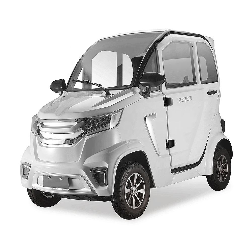 Fashion Design 2000w Eec Closed Cabin Light Car Convenience 58Ah Mini Electric Car With 2 Seats