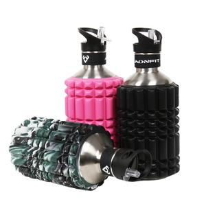 Aonfit high quality bicycle water bottle foam roller