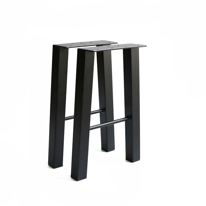 H Shaped Wrought Iron Coffee Steel Metal Table Legs