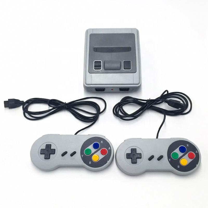 621 in 1 SNES SFC oyun 2 kontrolörleri TV çıkışı 1080P Mini Retro Video oyunu konsolu