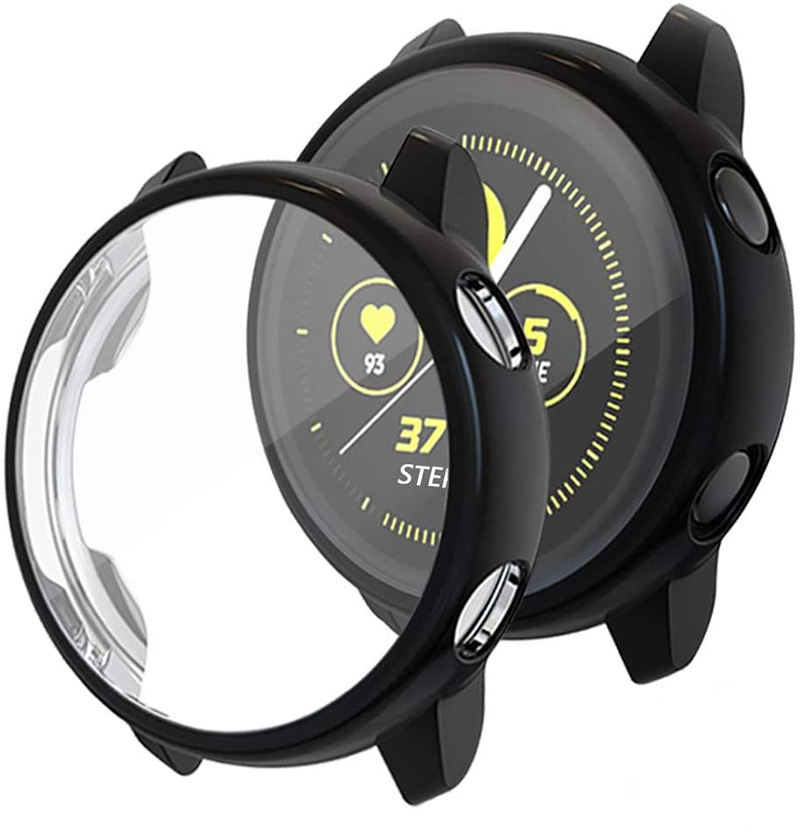 TPU Slim Plated Case Shock-Proof Scratch-Proof Cover For Samsung Galaxy Watch Active