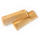 Factory Price Natural Biodegradable Bamboo Wide Tooth Hair Straightener Comb