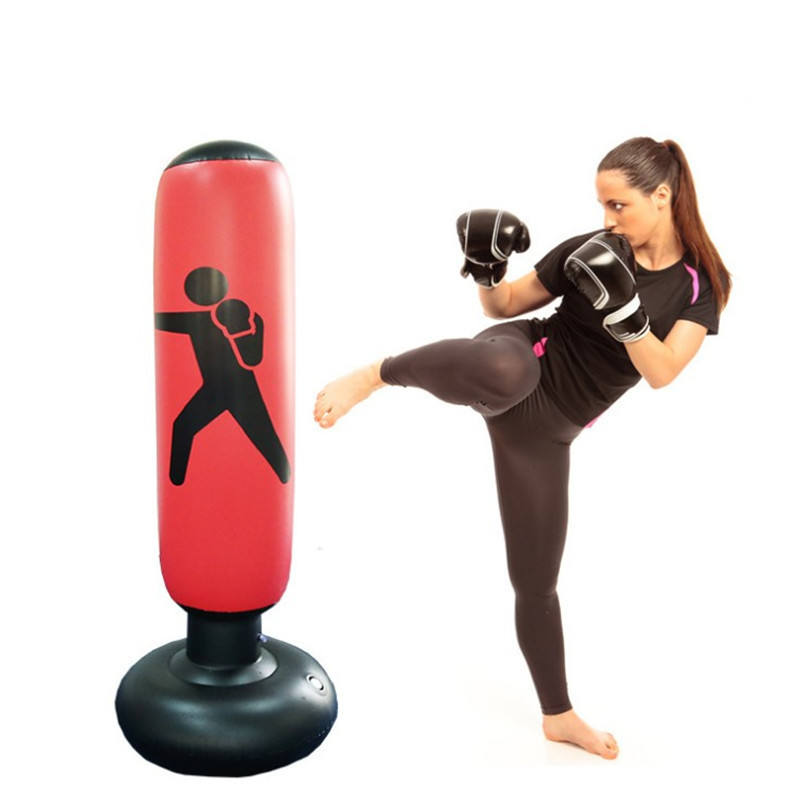 New Gym Training 160cm Inflatable Sanding Boxing Punching Bag For Adults and kids