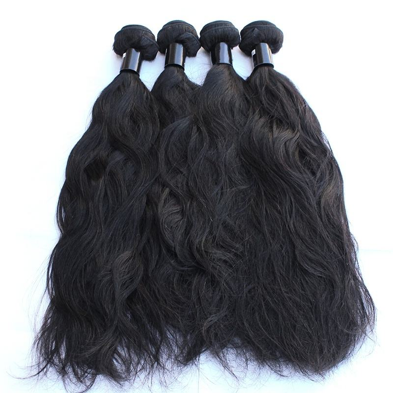 Top Quality No Shedding No Tangle Raw Indian Wavy Hair Best Selling 9A 10A Grade Unprocessed Cuticle Aligned Hair
