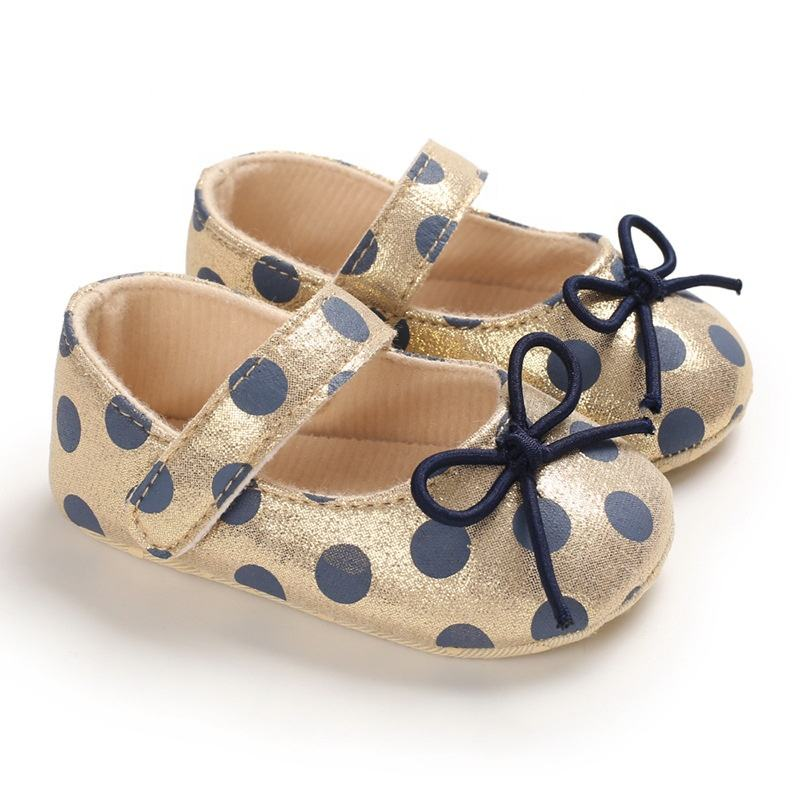 EVERTOP hot selling high quality pretty design dress prewalking new born baby girl shoes
