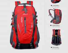 Outdoor sports, high-capacity travel, mountaineering bags, men and women leisure ride waterproof backpack