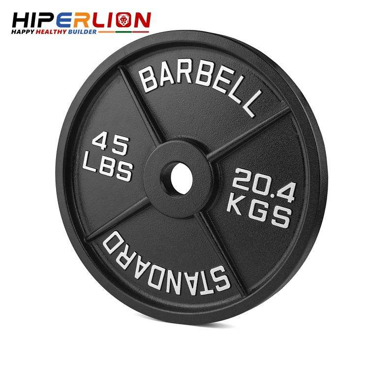 Wholesale Standard Cast Iron Cheap Custom Logo Olympic Weight 10kg 30mm 50mm Hole Bumper Plate
