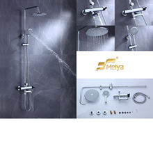 Factory  price popular waterfall rain bathroom shower set