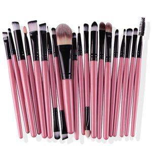 brochas maquillajes professional 2020 classical makeup brush women soft synthetic hair beauty 20pcs cosmetic kit sets tools