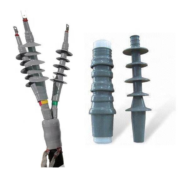 De interior al aire libre frío psiquiatra de terminación del kit 15kv cable de aluminio