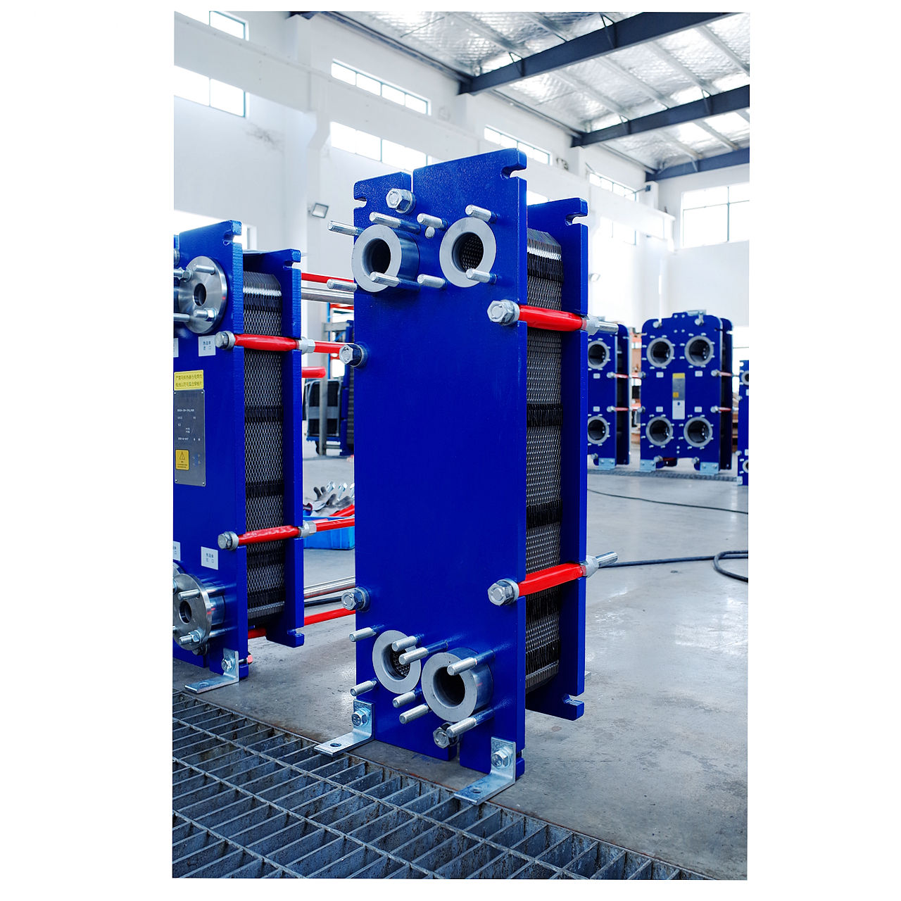 Plate heat exchanger for liquid exchange details br01