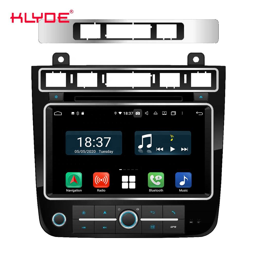 KLYDE KD-8130 PX5 PX6 Android 10 Auto <span class=keywords><strong>DVD</strong></span> GPS Android Radio Für T-ouareg 2010 - 2017 Unterstützung SWC heizung