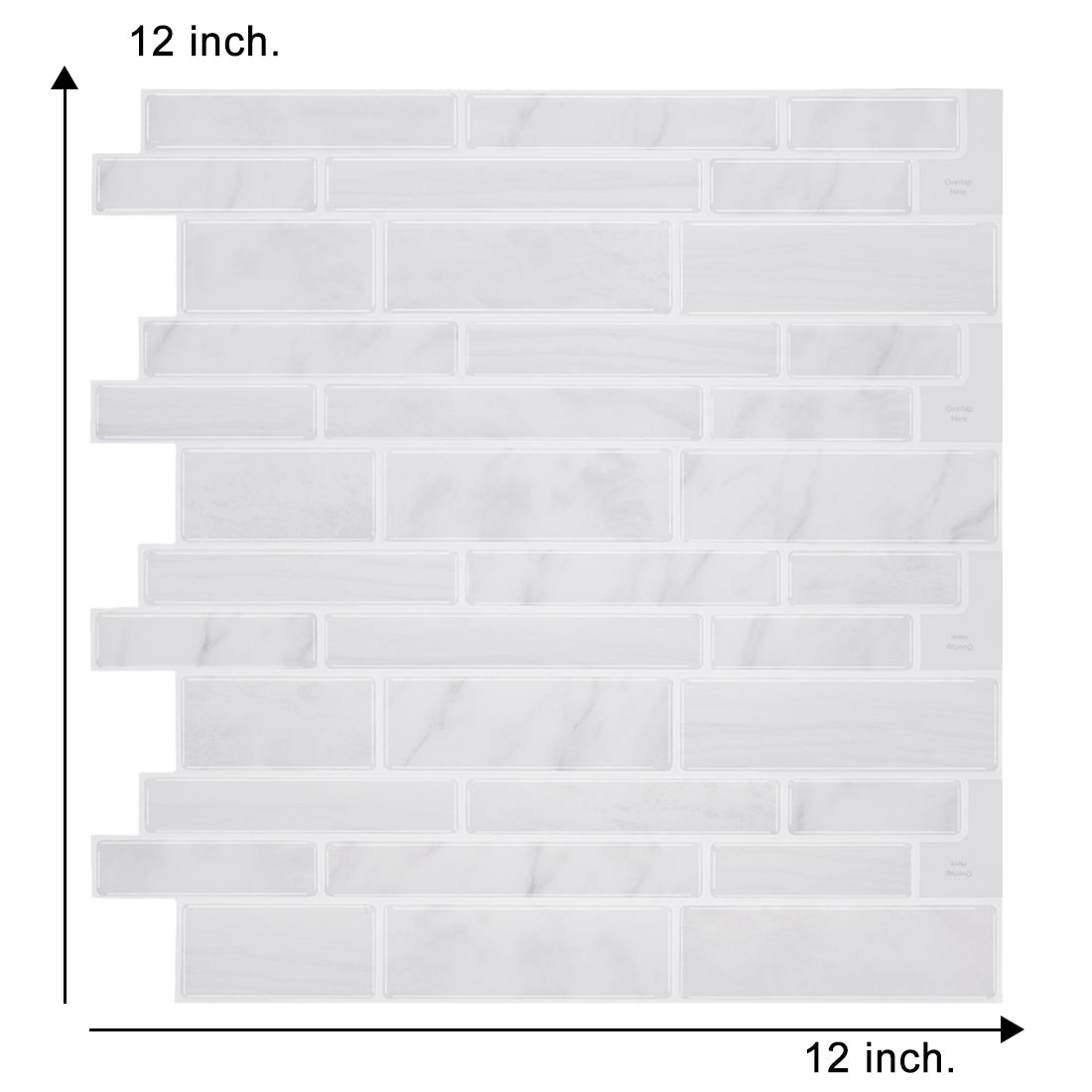 Special Offer Just For Today Waterproof Peel and Stick Tile Backsplash for Kitchen