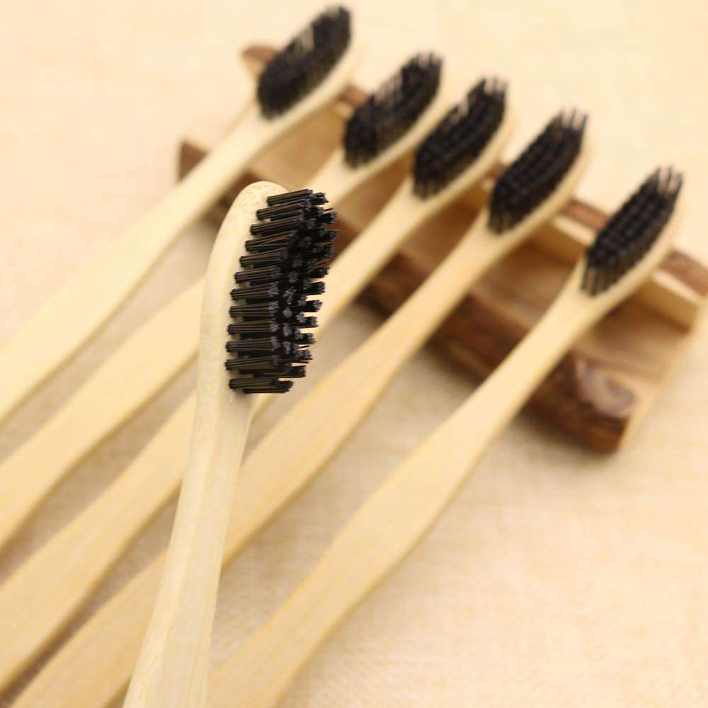 Factory wholesale Hotel customized Bamboo Toothbrush
