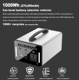Power Usb Solar Usb 1000W High Capacity Solar Portable Power Station For Camping Food Truck Explorer Phone QC3.0 USB 12V /24V DC Output 3 Chargi