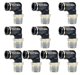 Pneumatic parts PL plastic brass air quick connect pneumatic fitting