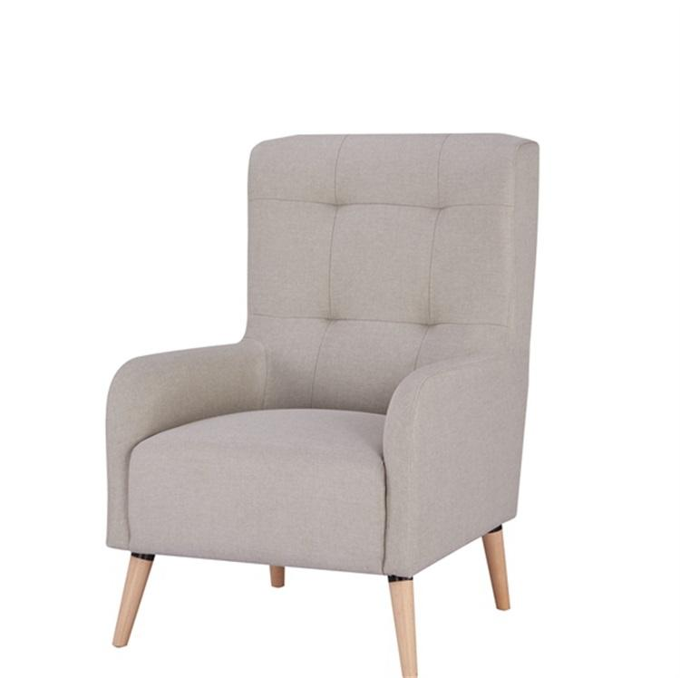 Health and Safety single seat royal high back armchair luxury and high quality living room chair